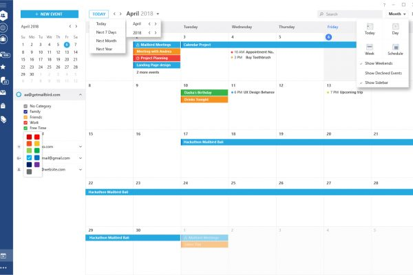 CalendarUI_V14_MONTH VIEW - MENU POPUPS